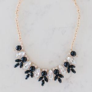 Jewelry - Black and Gold Rhinestone Statement Necklace